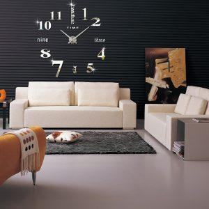שעון קיר תלת מימד