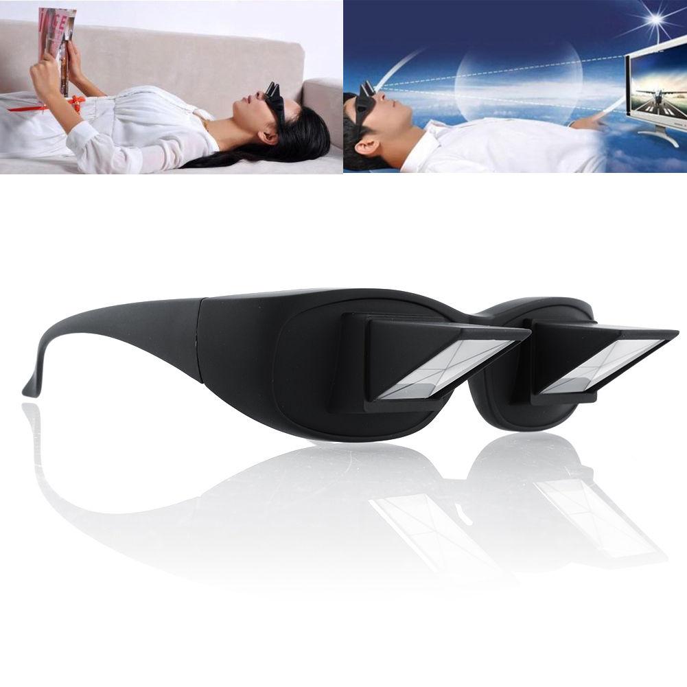 משקפיים אופקיים לקריאה וצפייה בשכיבה