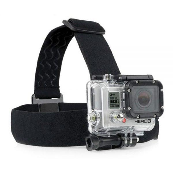 רצועת ראש למצלמות אקסטרים GOPRO/SJCAM